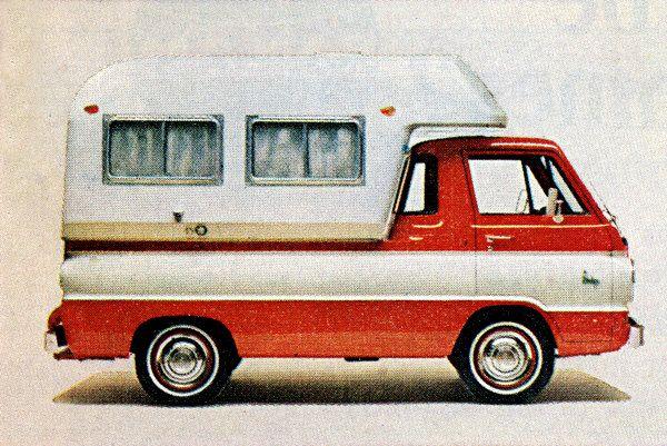 Go camping with dodge 1965 mopar cars and dodge trucks dodge a 100 camper camper a100 pickup publicscrutiny Images
