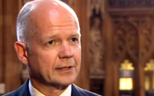 William Hague: EU Referendum Bill off to 'a good start' - Telegraph