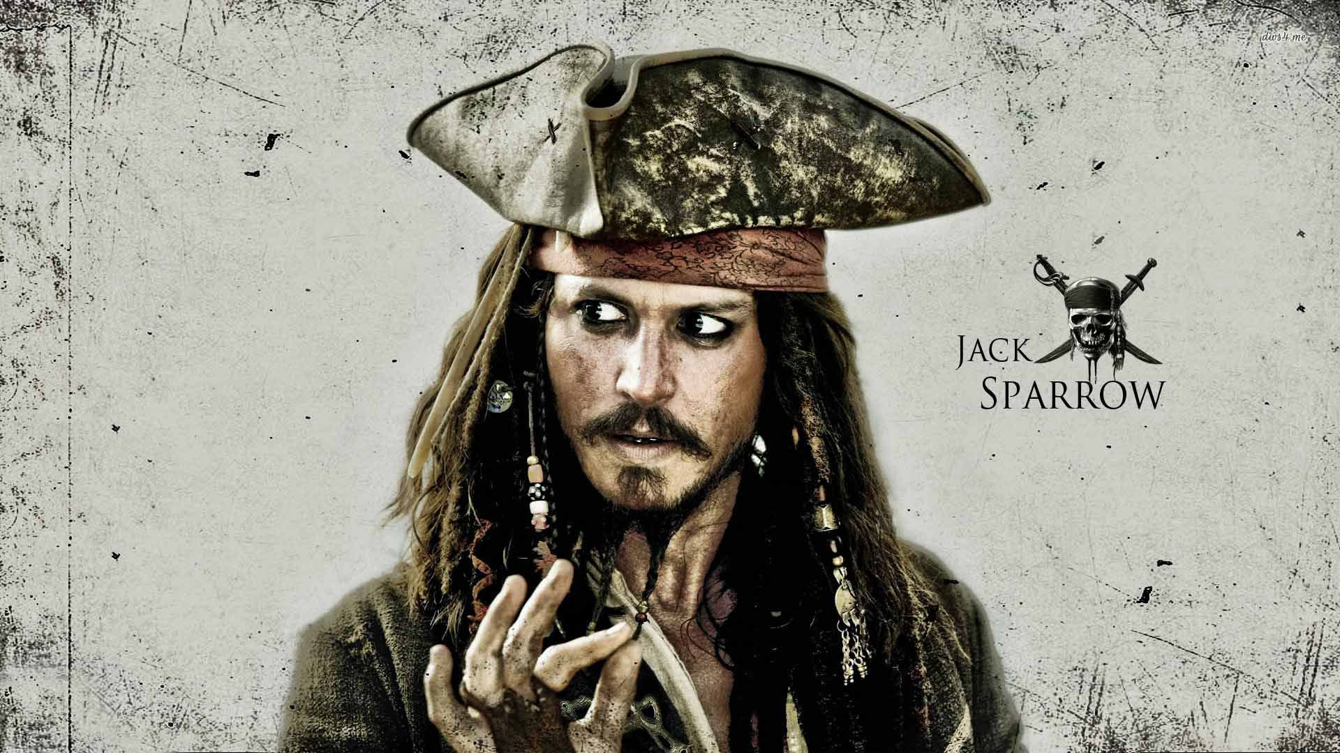 Jack Sparrow Pirates Of The Caribbean Movie Wallpaper