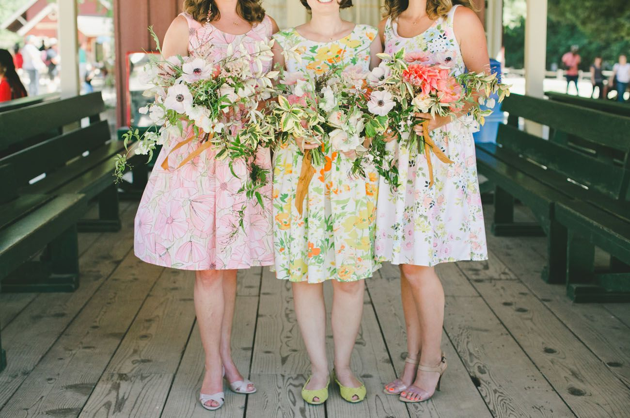 A cheery springtime wedding with a train ride through the redwoods a cheery springtime wedding with a train ride through the redwoods ombrellifo Choice Image