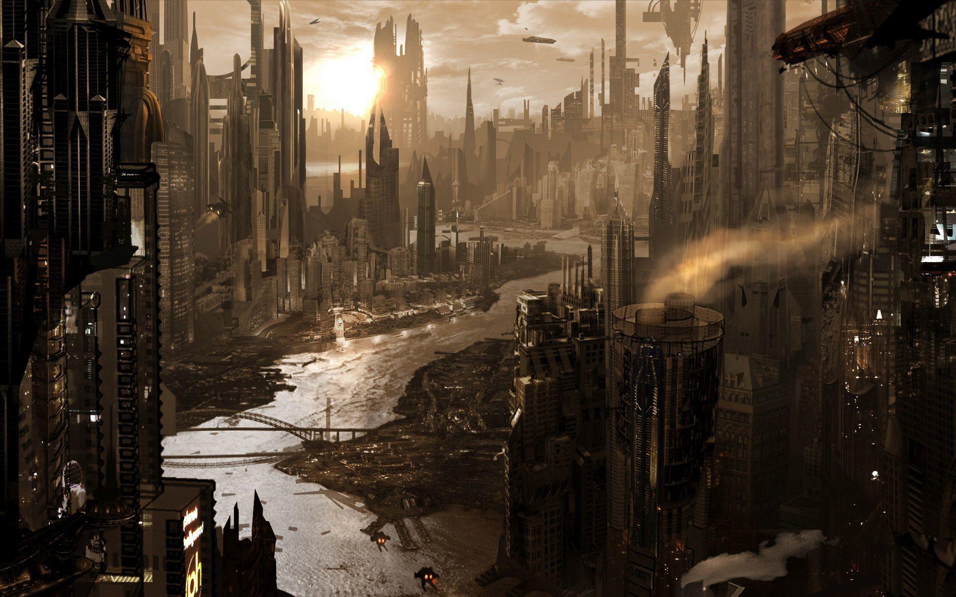 Steampunk City Wallpaper Google Search Illyustracii S Gorodom Gorodskoe Iskusstvo