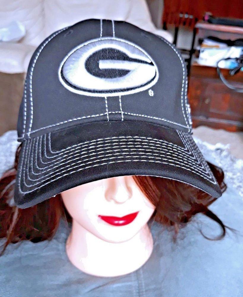 51c18e1f0fa dGeorgia Bulldog The Game cap Hat Classic Black UGA lid college Football  NCAA  Classic  TruckerHat