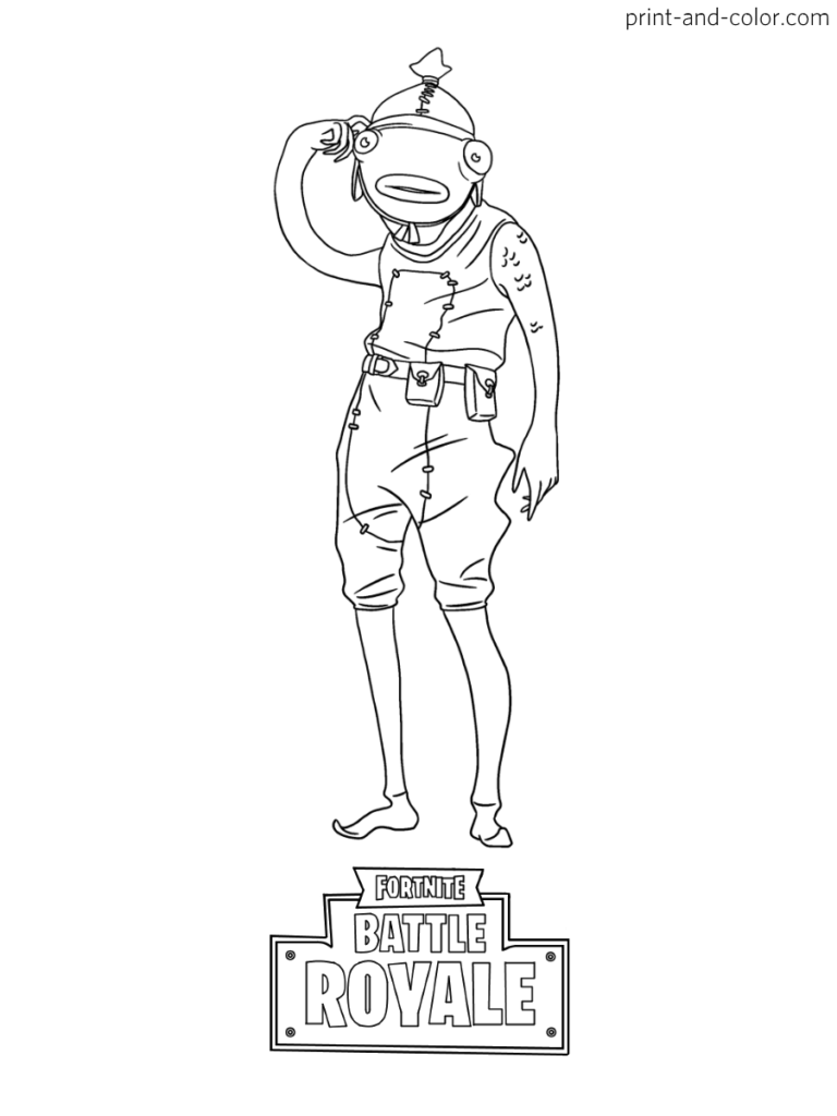 Fortnite Coloring Pages Print And Color Com Coloring Pages Coloring Pages For Boys Skin Drawing