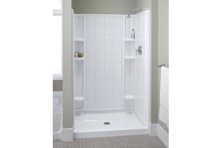 Shop For The Sterling 72130100 0 Ensemble Tile Shower Kit 60 X 34