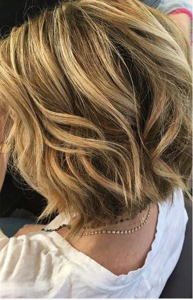Blonde balayage highlights on short hair hair color pinterest blonde balayage highlights on short hair pmusecretfo Gallery