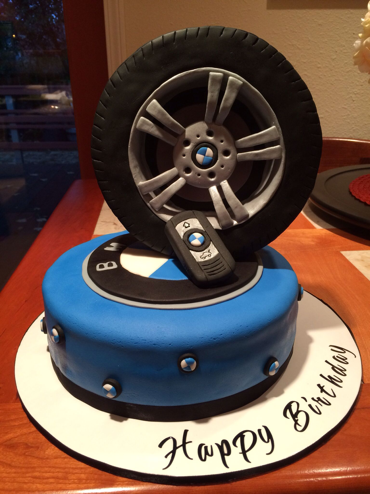 Birthday Cake My Creations Bmw Cake Dad Birthday