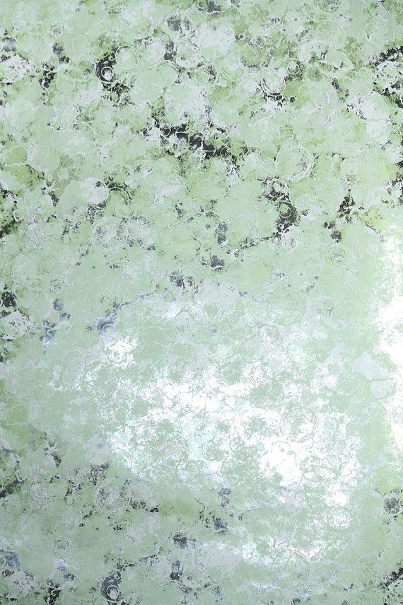 Retro Wallpaper by the Yard 70s Vintage Mylar by