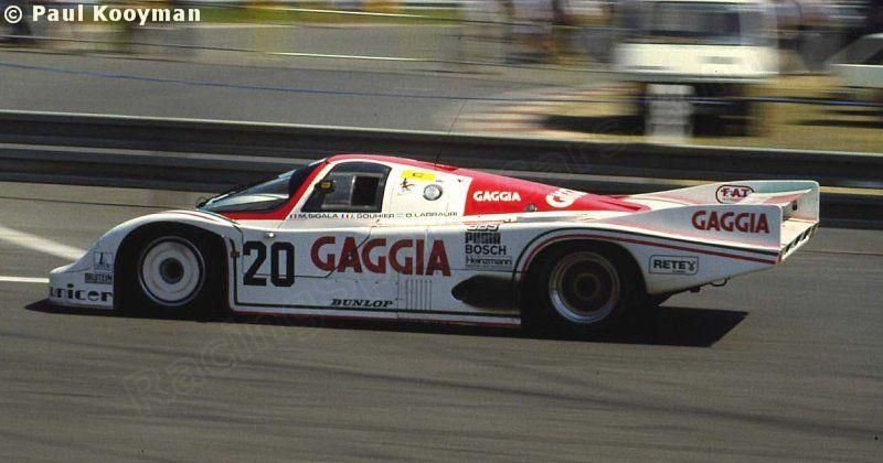 RSC Photo Gallery - Le Mans 24 Hours 1984 - Porsche 956 no.20 - Racing Sports Cars