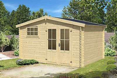 Gartenhaus Ca 400x400 Cm Geratehaus Blockhaus Schuppen Qualitat Holz 28 Mmsparen25 Com Sparen25 De Sparen25 Info Gartenhaus Haus Blockhaus