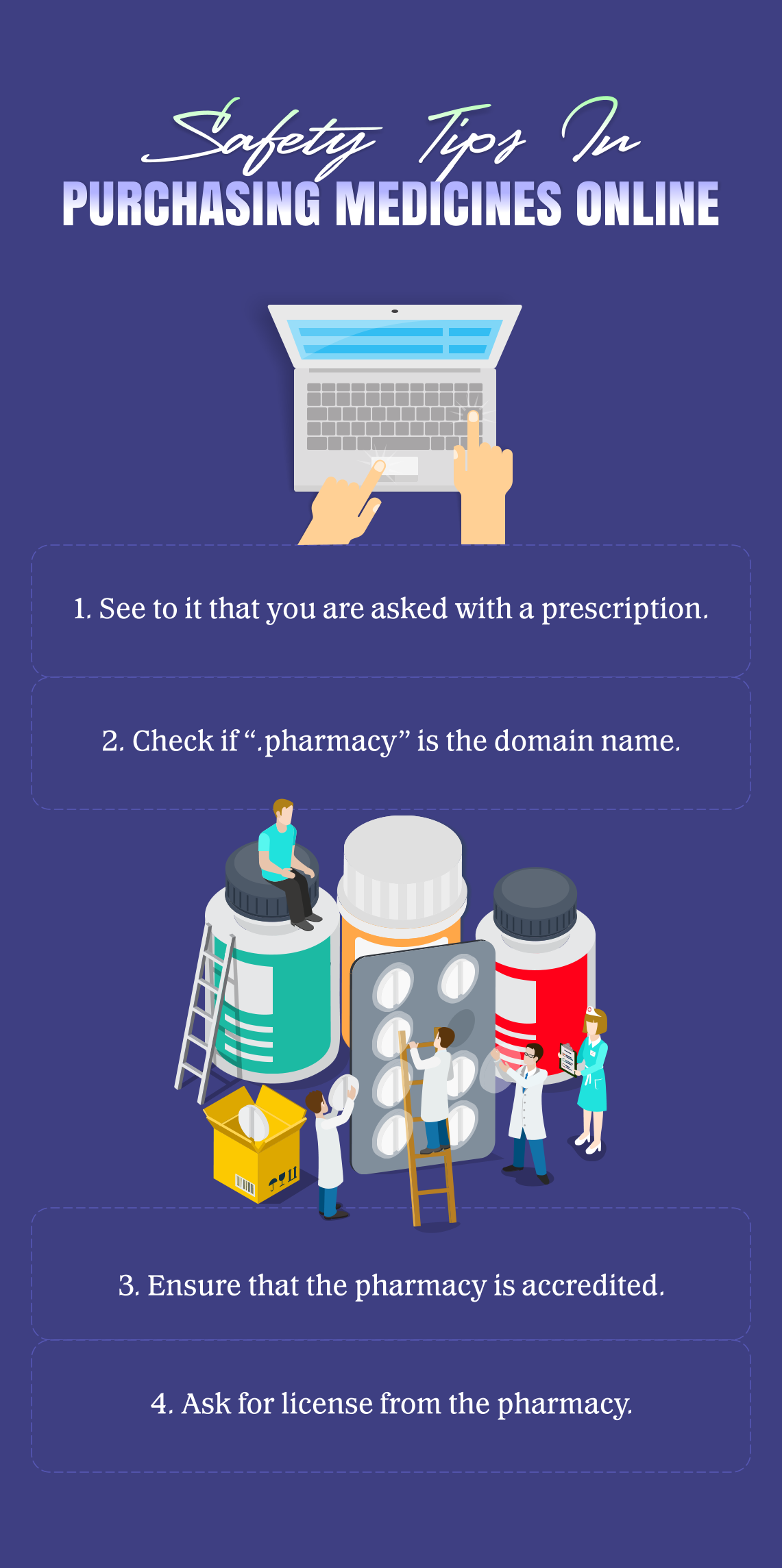 Healthtips Safety Tips In Purchasing Medicines Online