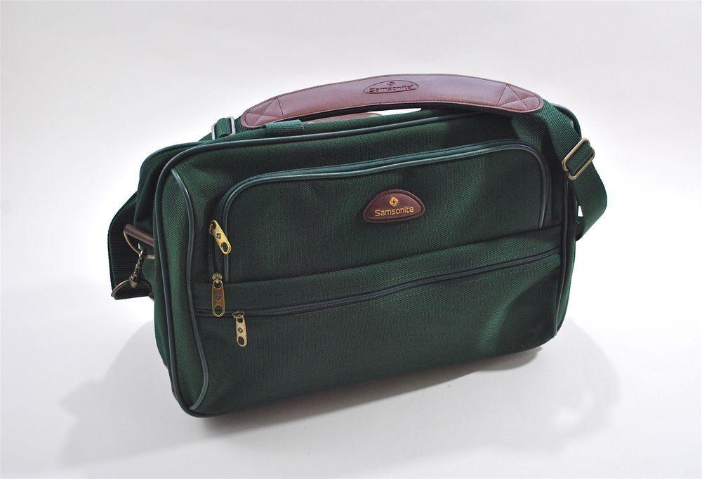 Samsonite Carry On Shoulder Travel Suitcase Weekender Bag Duffle Luggage Tote Samsonite Weekender Bag Bags Suitcase Traveling