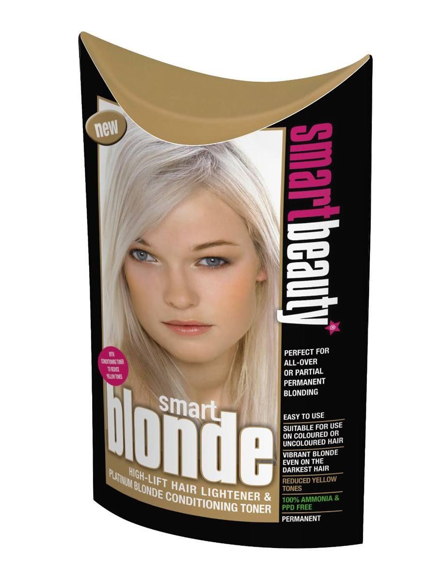Smart Blonde High Lift Hair Lightener Platinum Blonde Conditioning
