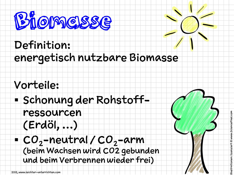 Erneuerbare Energie Biomasse Unterrichtsmaterial In Den Fachern Chemie Physik In 2020 Erneuerbare Energien Energie Lernen