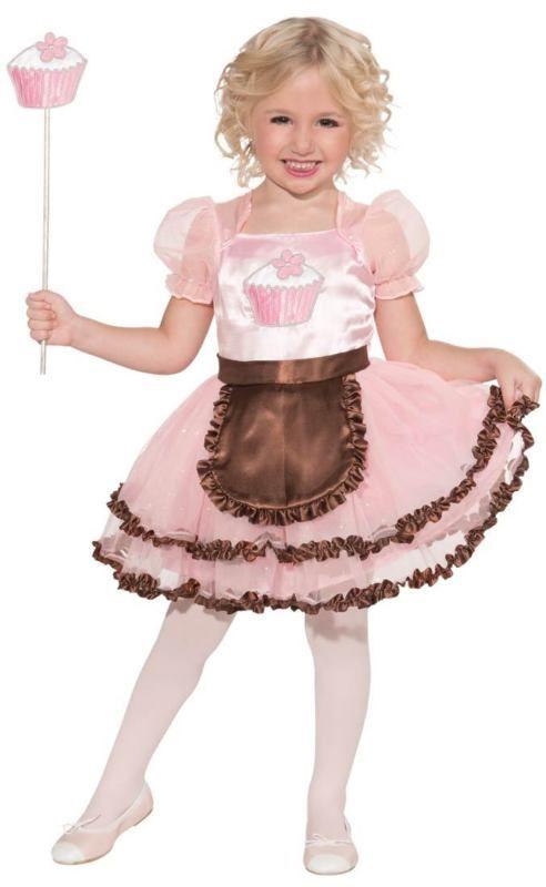 Child Small (4-6) Cupcake Princess Costume - Princess Costumes - princess halloween costume ideas