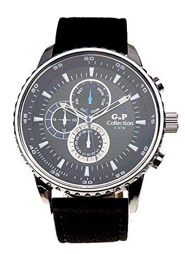 G&P Collection Men Wrist Watch Quartz Model GP9721 Men's Luxary Watch G&P Collection Watches