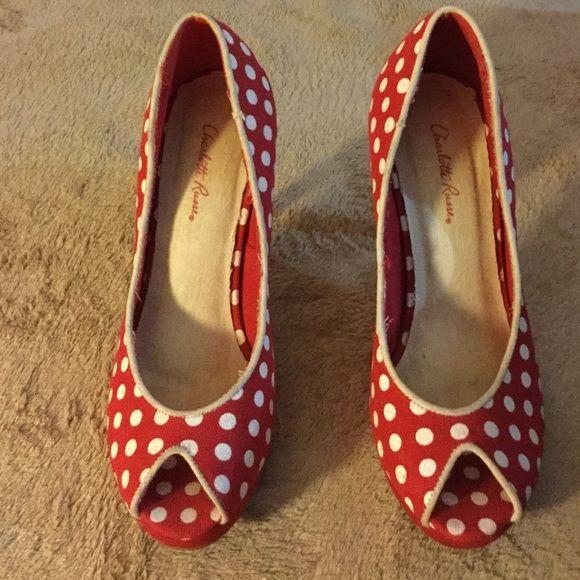 Valentine's Day Sale. Charlotte Russe heels Great for Valentine's Day Charlotte Russe Shoes Heels