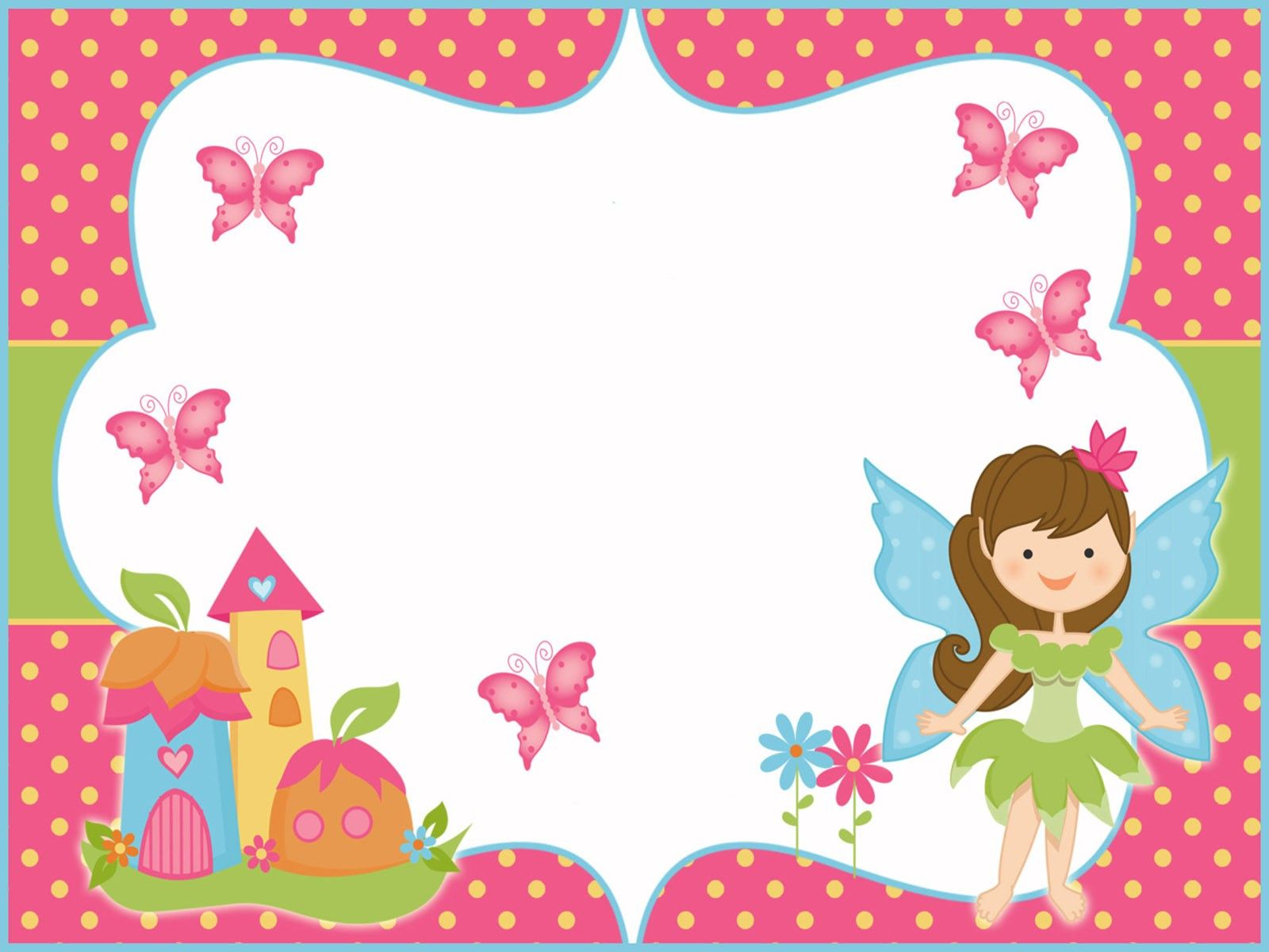 Free Printable Butterfly Invitation