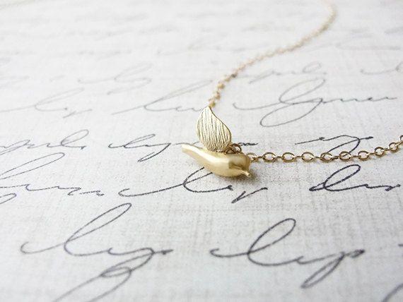 Rose Vergoldet Charm Liebe Vögel für Bettelarmband