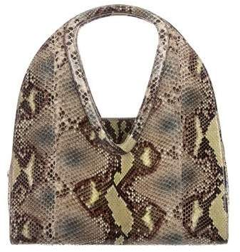592b143981 Salvatore Ferragamo Glazed Python Shoulder Bag Bag Men
