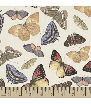 Susan Winget Quilt Fabric- Butterfly Revolution Flustered