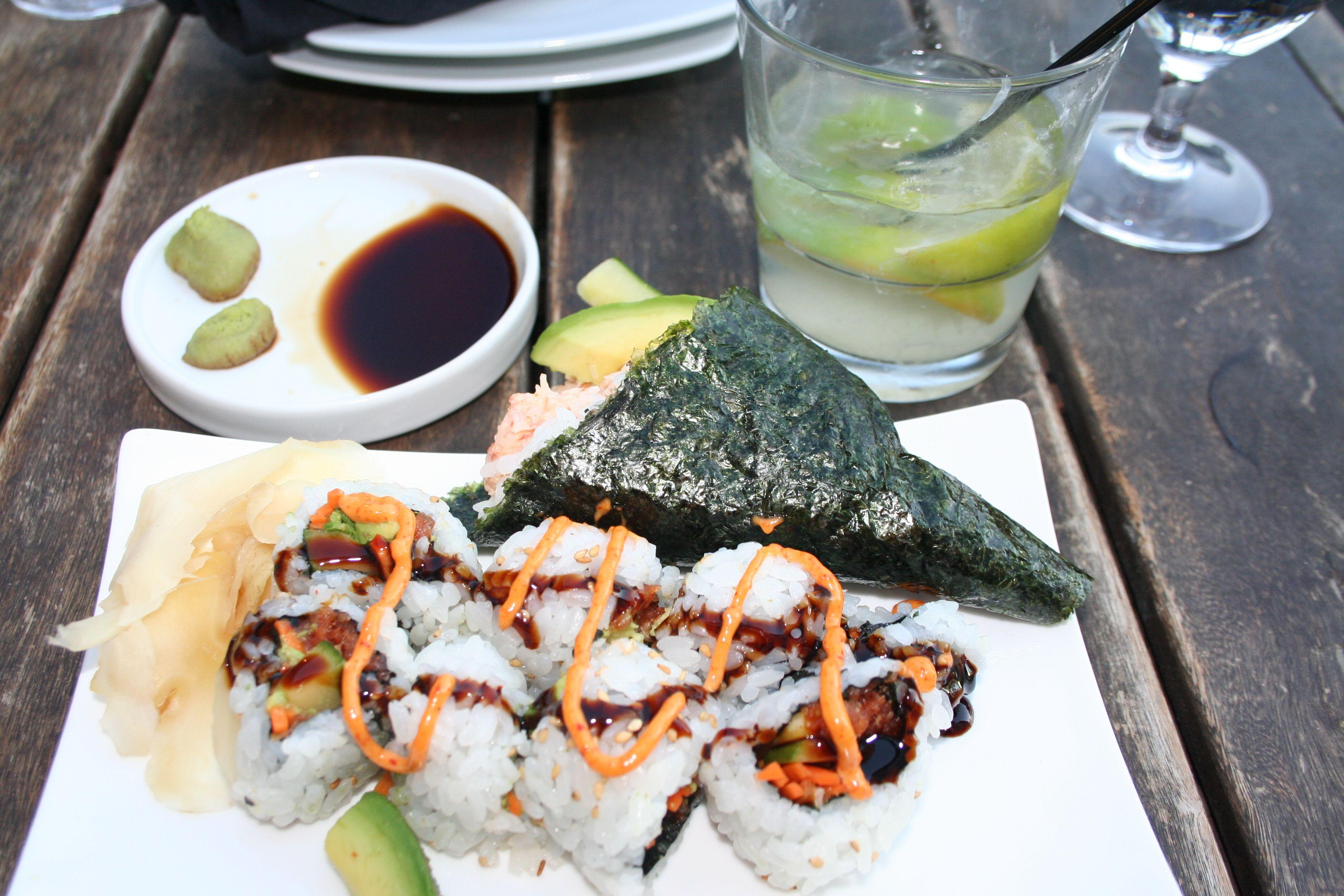 My handmade sushi rolls. (Photo: Mark Heckathorn/DC on Heels)