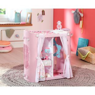 Baby Annabell Baby Unit Wardrobe and Changing Table ...