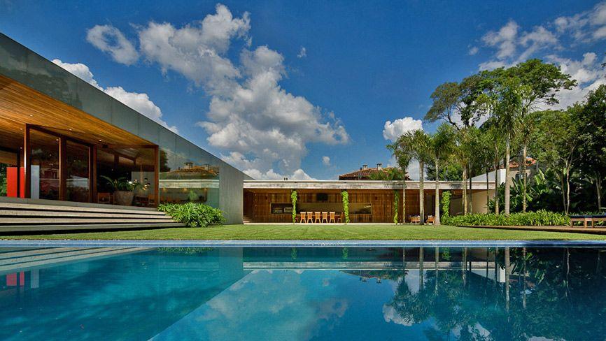 Casa Mais Bonita Do Brasil Segundo Revista Com Imagens