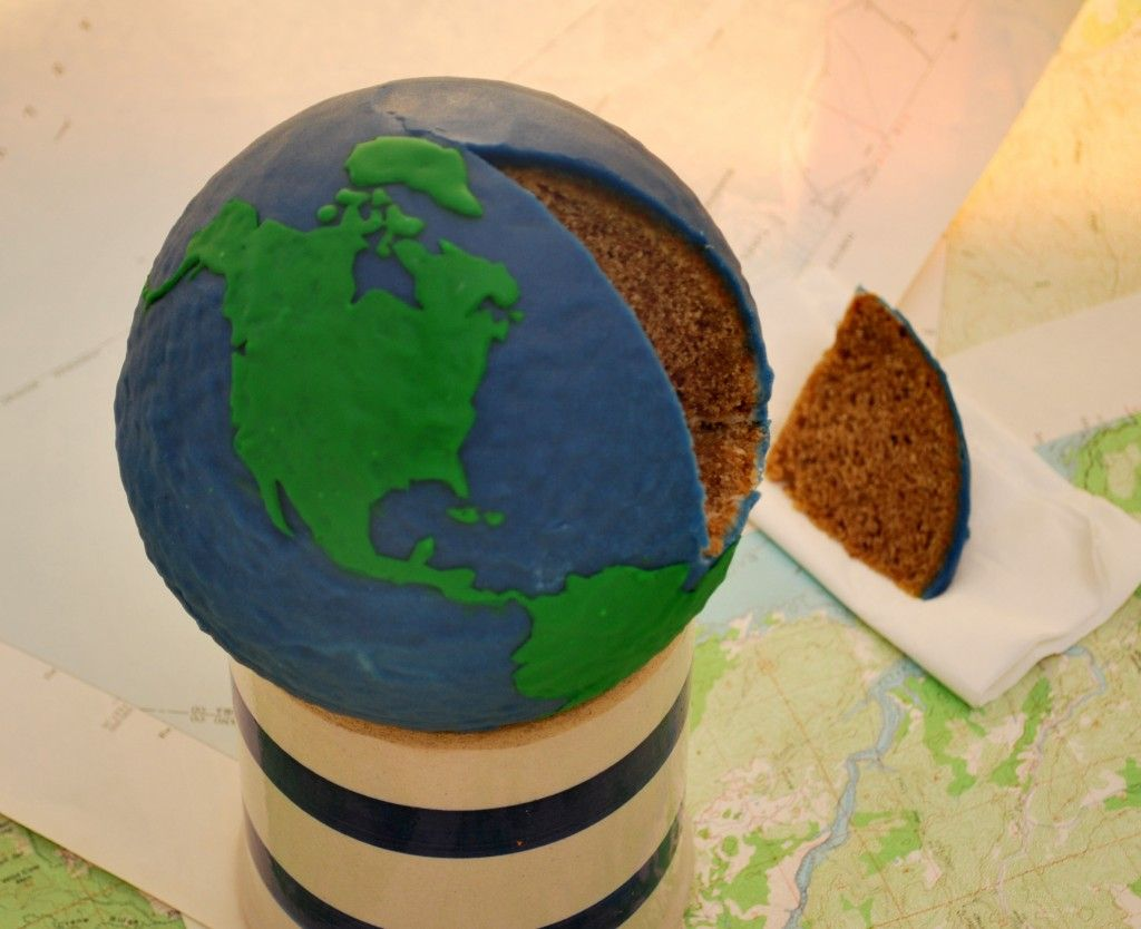 Gluten Free Earth Day Cake | Holiday entertaining, Earth ...