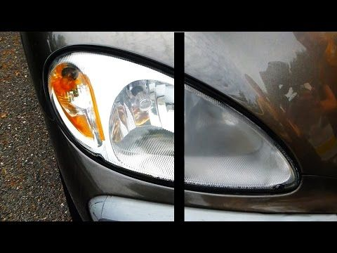 How To Restore Headlights Permanently Youtube Diy Pinterest
