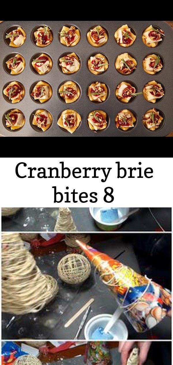Cranberry brie bites 8 #cranberrybriebites