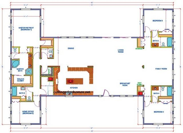 Hollywood extreme floor plan web retirement home ideas for Extreme house plans