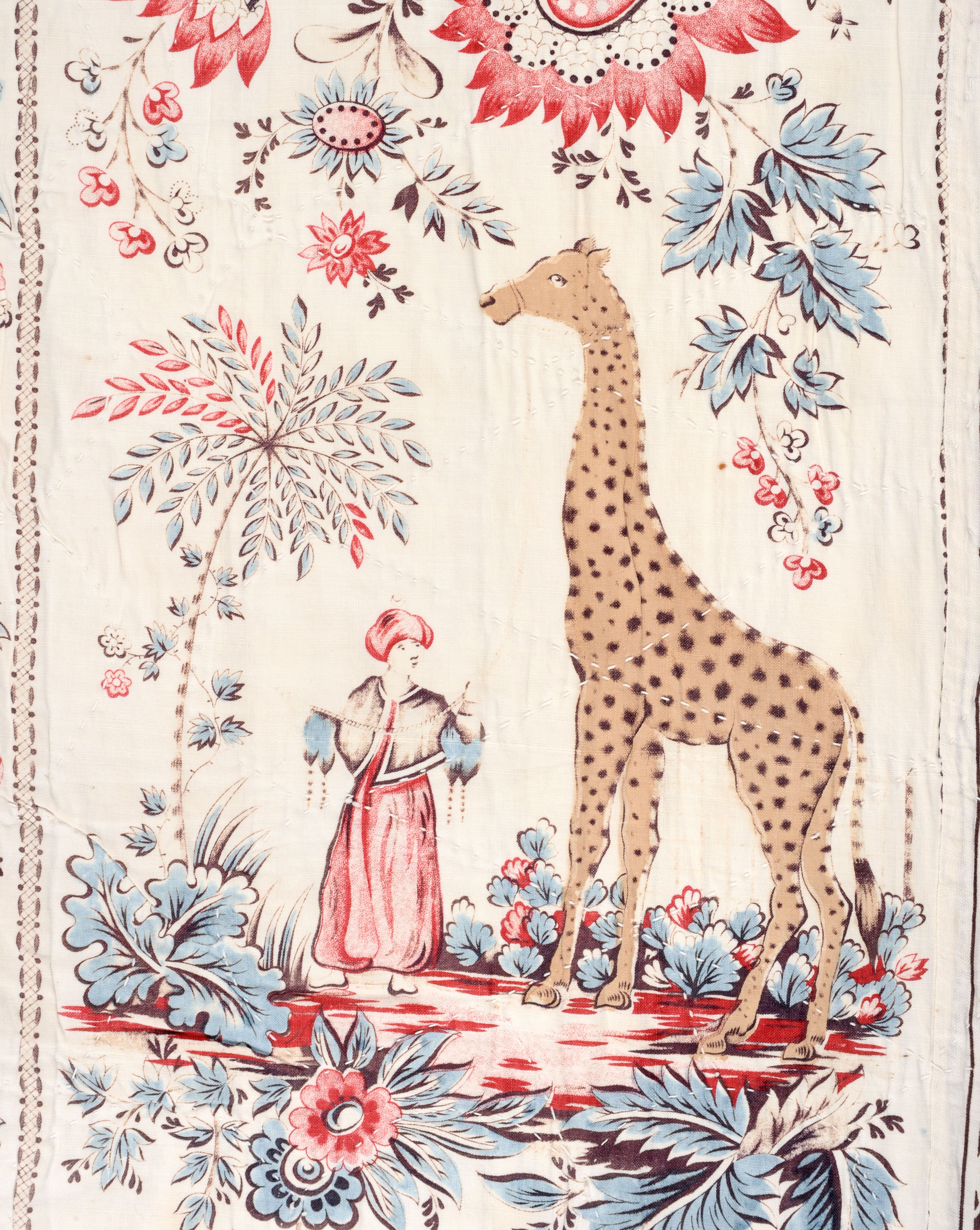 The Zarafa Quilt Girafe