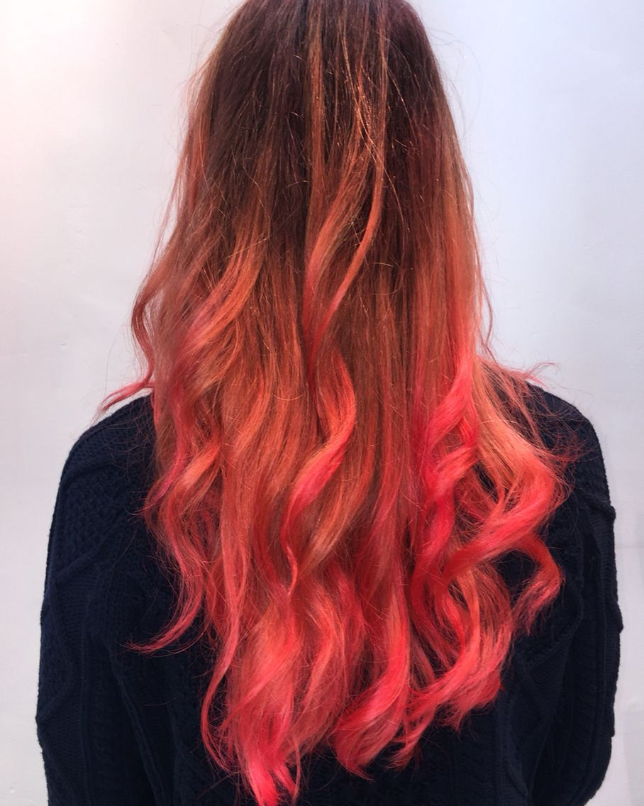 Hair Color Trends For 2021 Red Ombre Hairstyles Pretty Designs Hair Styles Brown Ombre Hair Ombre Hair Blonde