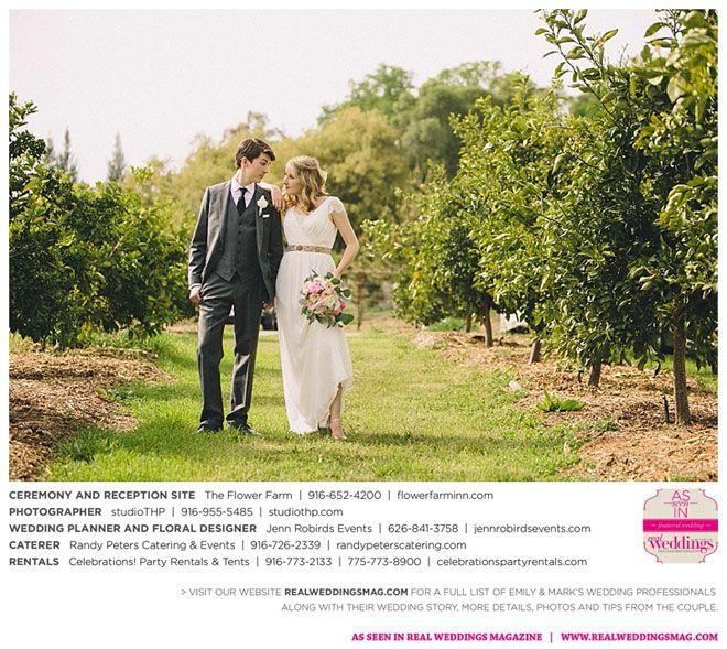 Sacramento Wedding Inspiration: Emily & Mark {from The