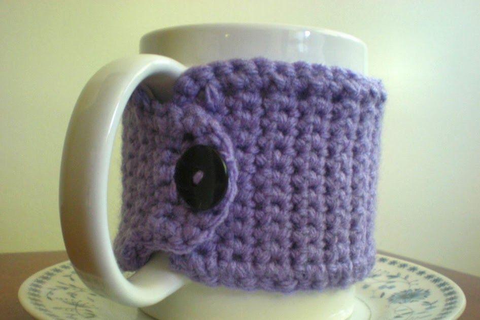 Tutus And Tea Parties Free Crochet Mug Cozy Pattern Crochet Hats