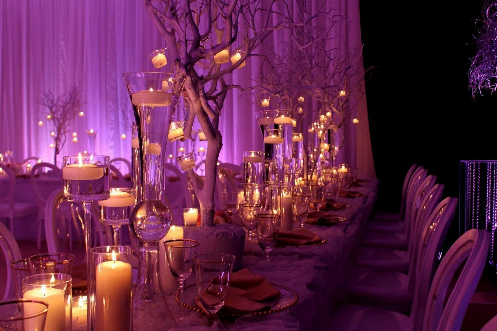 Image result for purple and gold wedding