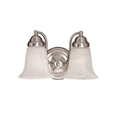 Photo of Millennium Lighting 300 Series 2-Light Bathroom Vanity Light in Satin Nickel