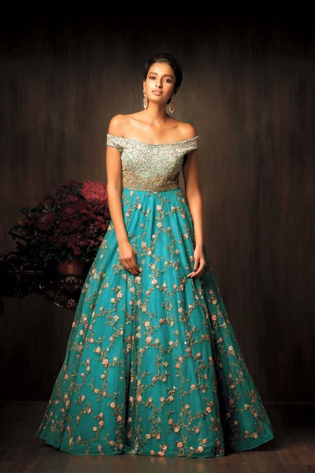 7b188c19d0f Pinterest •  bhavi91 Wedding Reception Gowns