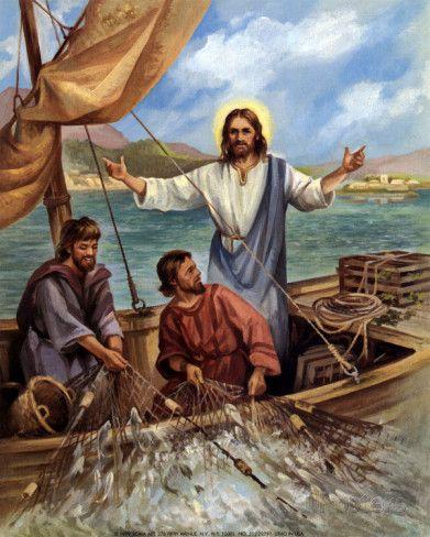The Fisherman Prints Lopez Allposters Com In 2020 Jesus Art Jesus Painting Bible Wall Art