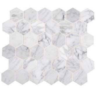 Save Up To 20 On The Daltile M701 2hexms1l From Build Com Low Prices Fast Amp Free Shipping On Most Order Hexagonal Mosaic Daltile Stone Mosaic