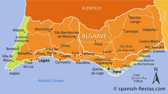 Maps Algarve Map  Blog with Collection of Maps All Around The World