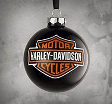 harley davidson christmas decor   Holiday Motorcyle Decorations ...