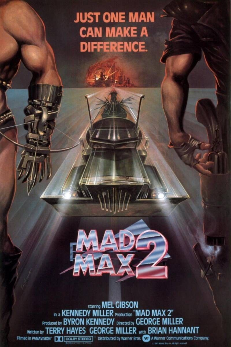 MAD MAX 2 poster carsploitation Mad max, Affiche film