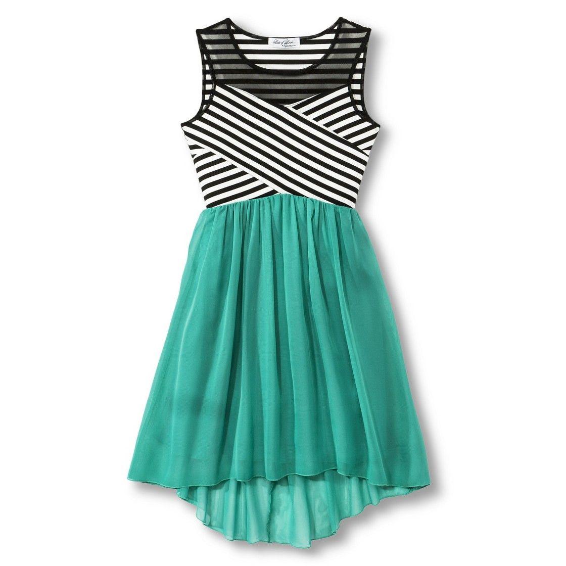 Girls A Line Dress Social Dresses Clothes Dresses For Tweens [ 1120 x 1120 Pixel ]