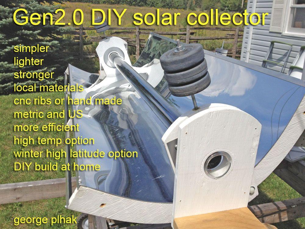 Georgesworkshop: Diy Solar Parabolic Trough Gen2 Intro