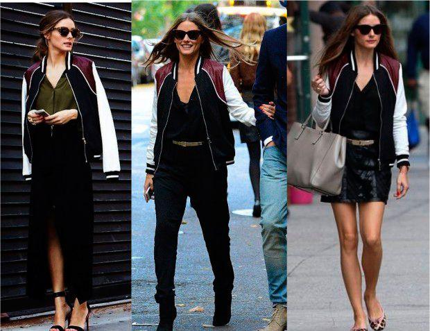 b6b2d0102f No blog tem 27 formas de usar a jaqueta bomber ou estilo varsity. Do estilo  feminino
