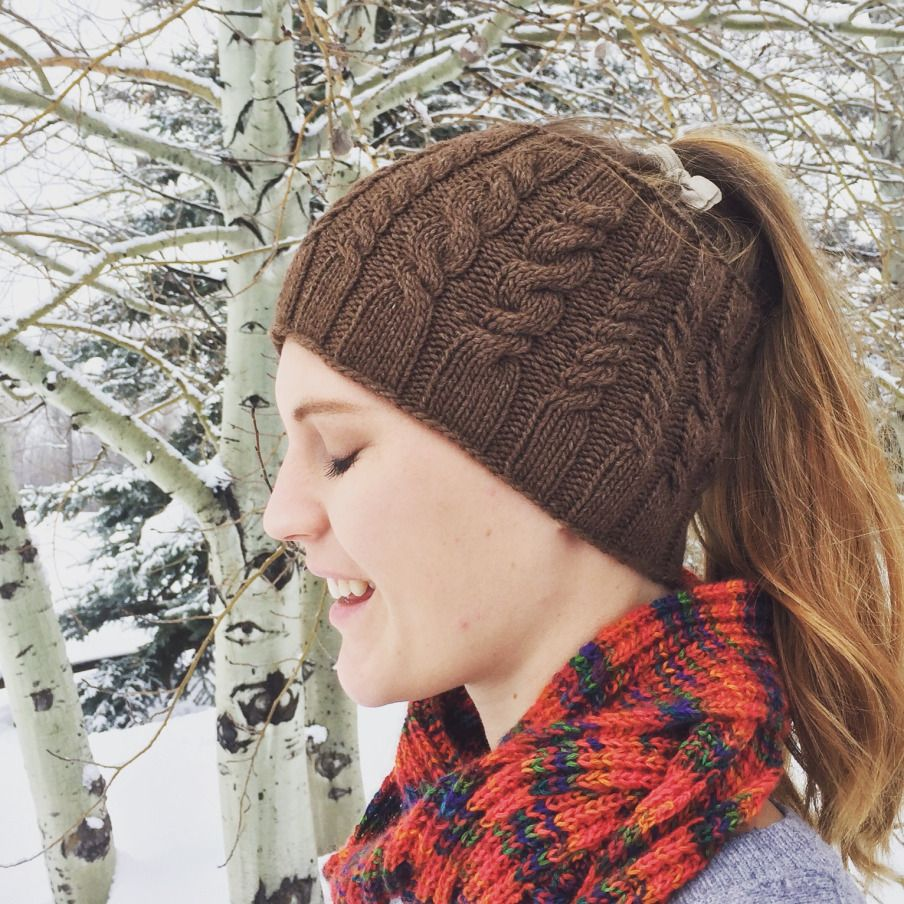Yellowstone Skate Ski Hat - free pattern | Dos agujas: gorros para ...