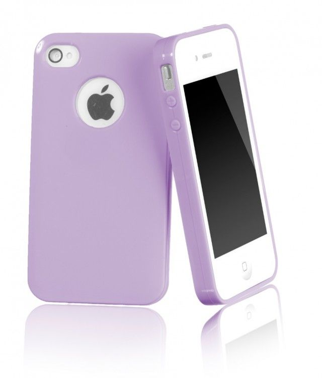 Coconut CoverFun iPhone 4 / 4S Case - Pastell Lila