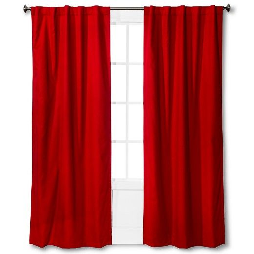 Twill Light Blocking Curtain Panel