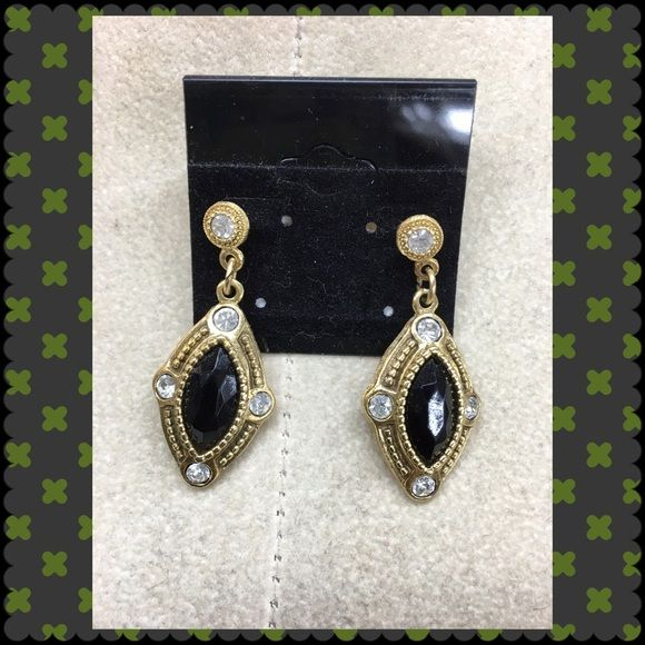 Black Earrings Beautiful black & gold earrings Jewelry Earrings